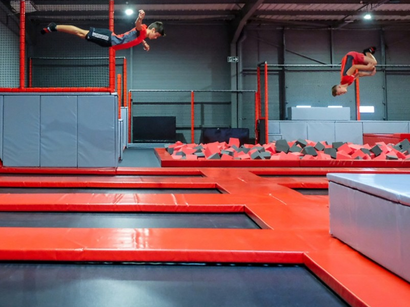 Passtime Ultra Jump Trampoline Park A Toulouse